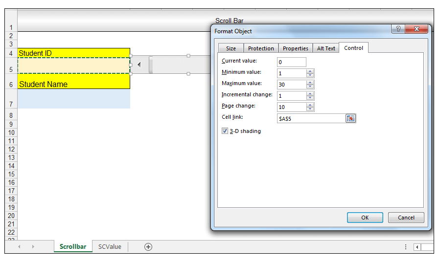 How to Use Form Controls in Excel   ExcelDemy