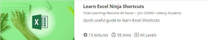 learning excel for free