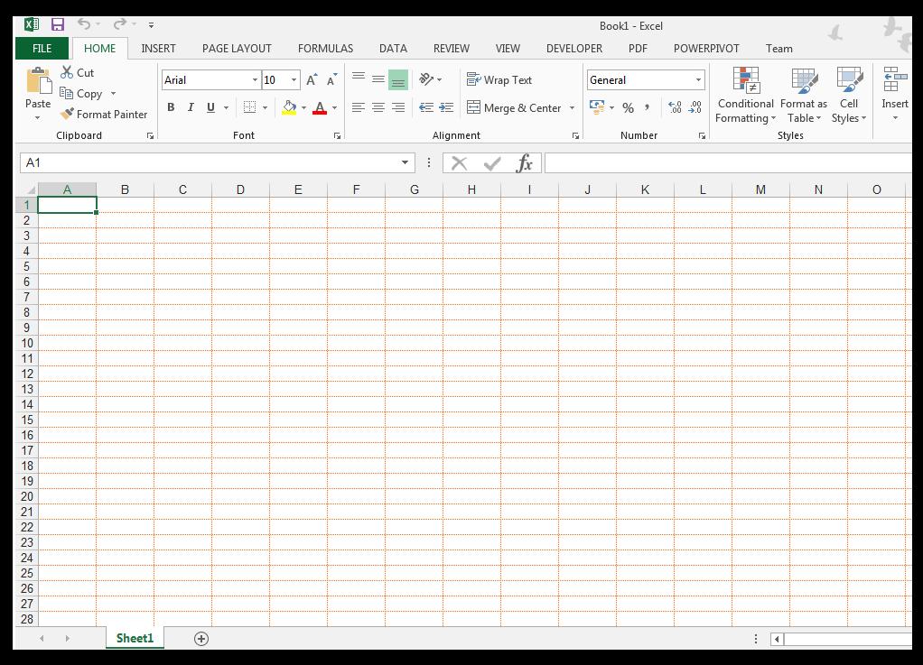 Change grid line colors in Excel - Image 6