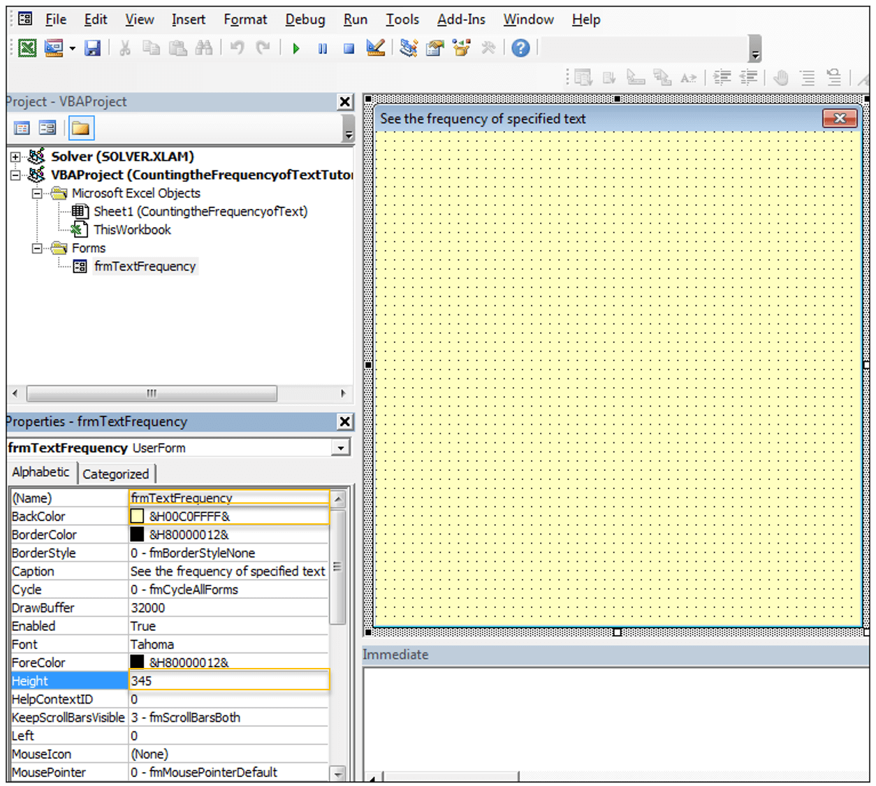 How to Count Frequency of Text in Excel (Using VBA)!   ExcelDemy