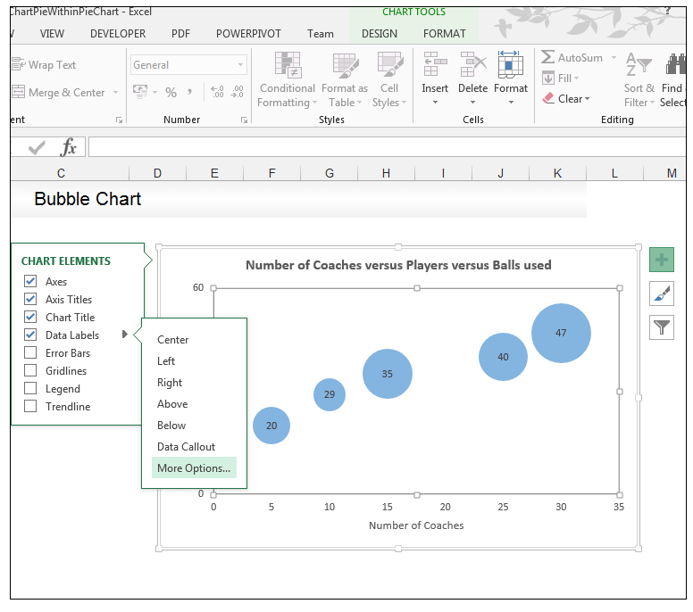 Bubble Chart in Excel - Image 6