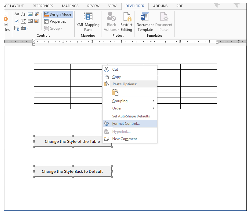 Using table nomenclature in excel referring to tables in for Table design tab excel