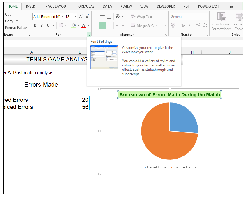 Add rich data labels to Excel Pie Chart Image 10