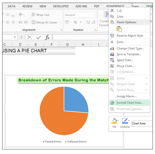 Add rich data labels to Excel Pie Chart Image 14