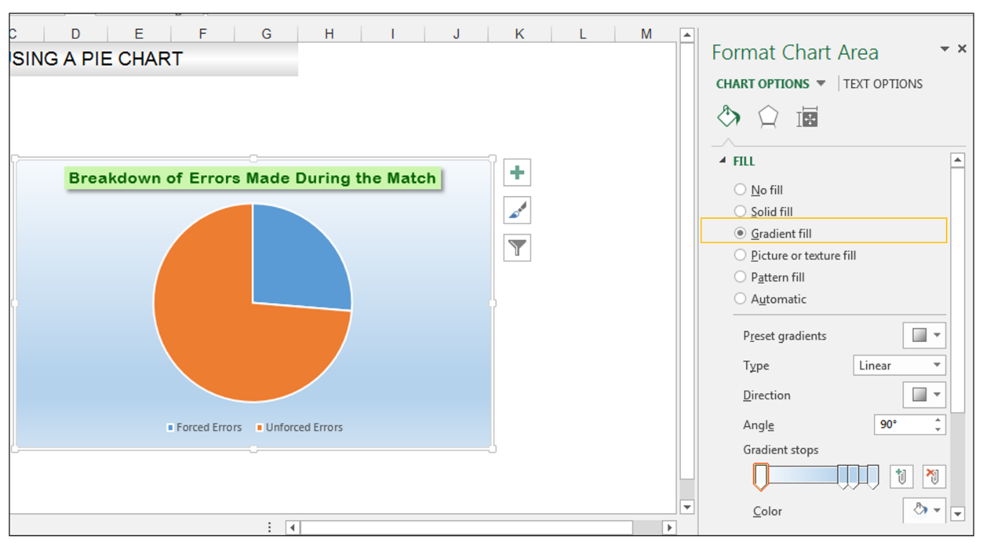 Add rich data labels to Excel Pie Chart Image 15