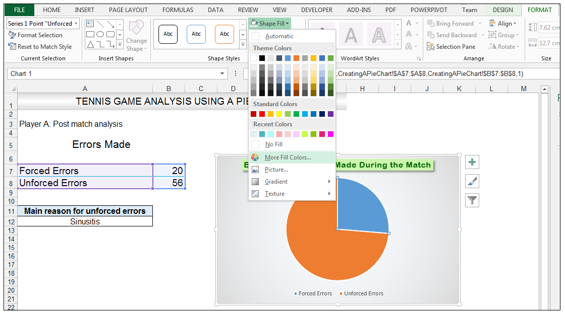 Add rich data labels to Excel Pie Chart Image 26