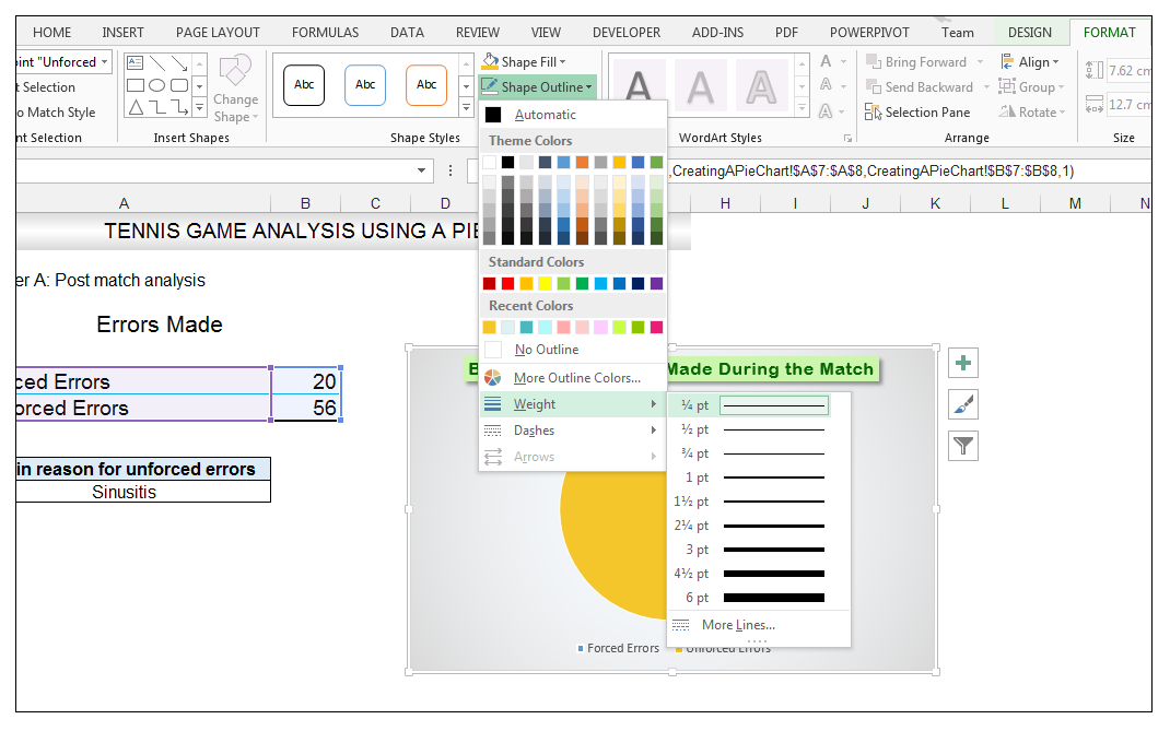 Add rich data labels to Excel Pie Chart Image 28