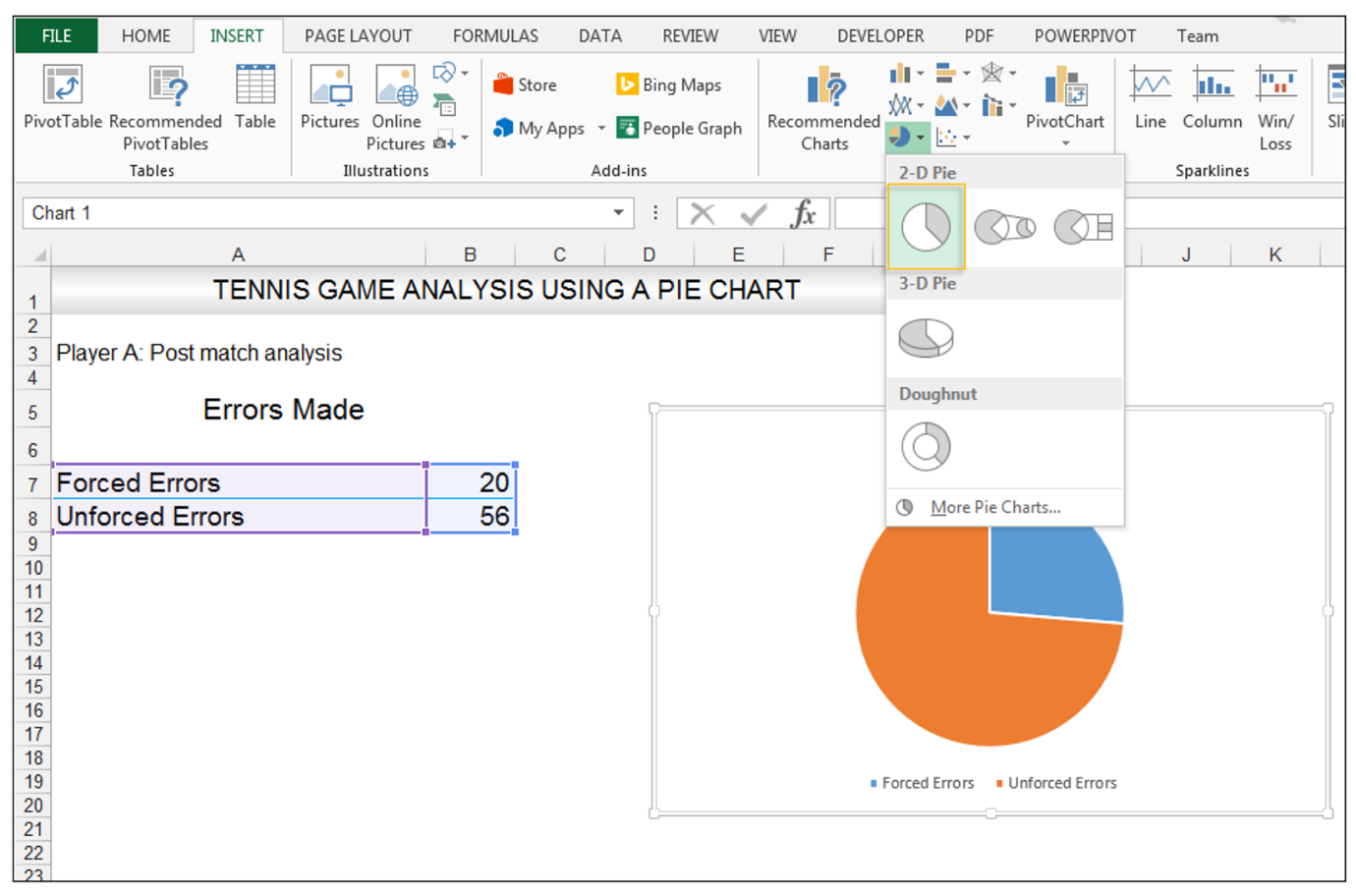 Add rich data labels to Excel Pie Chart Image 3