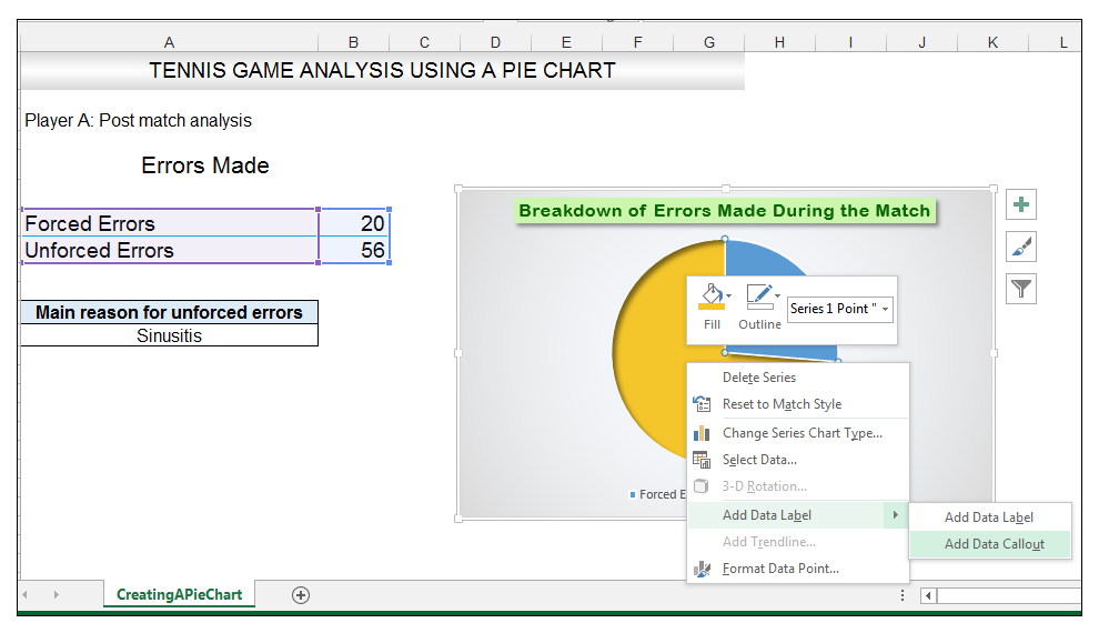 Add rich data labels to Excel Pie Chart Image 31