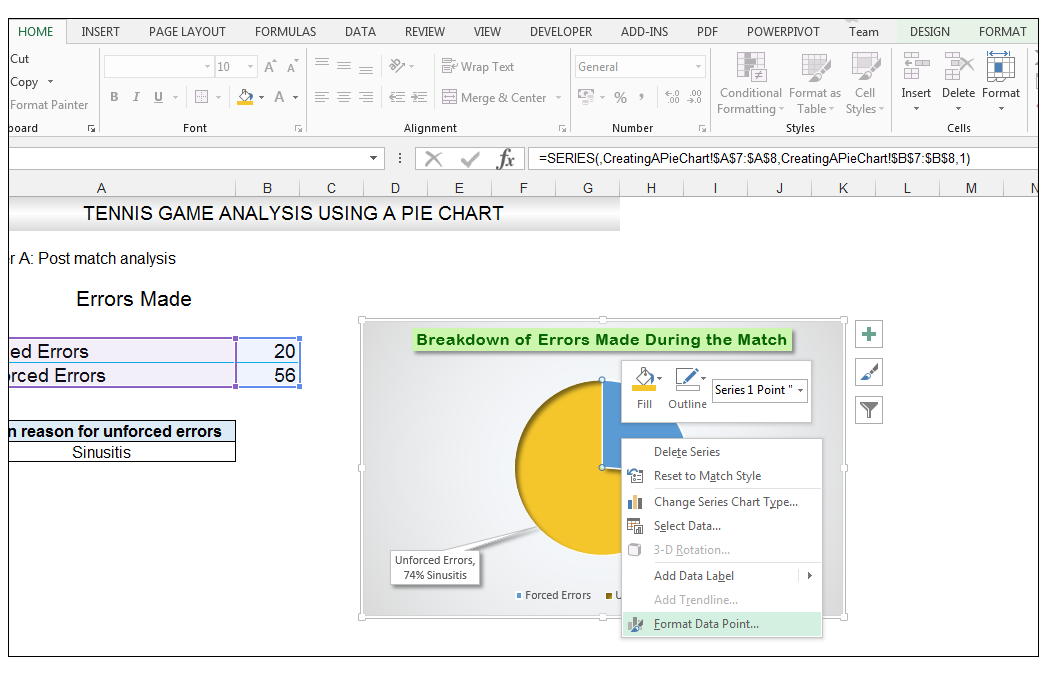 Add rich data labels to Excel Pie Chart Image 41