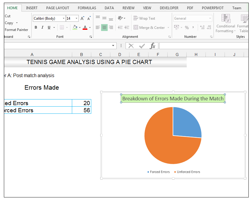 Add rich data labels to Excel Pie Chart Image 7