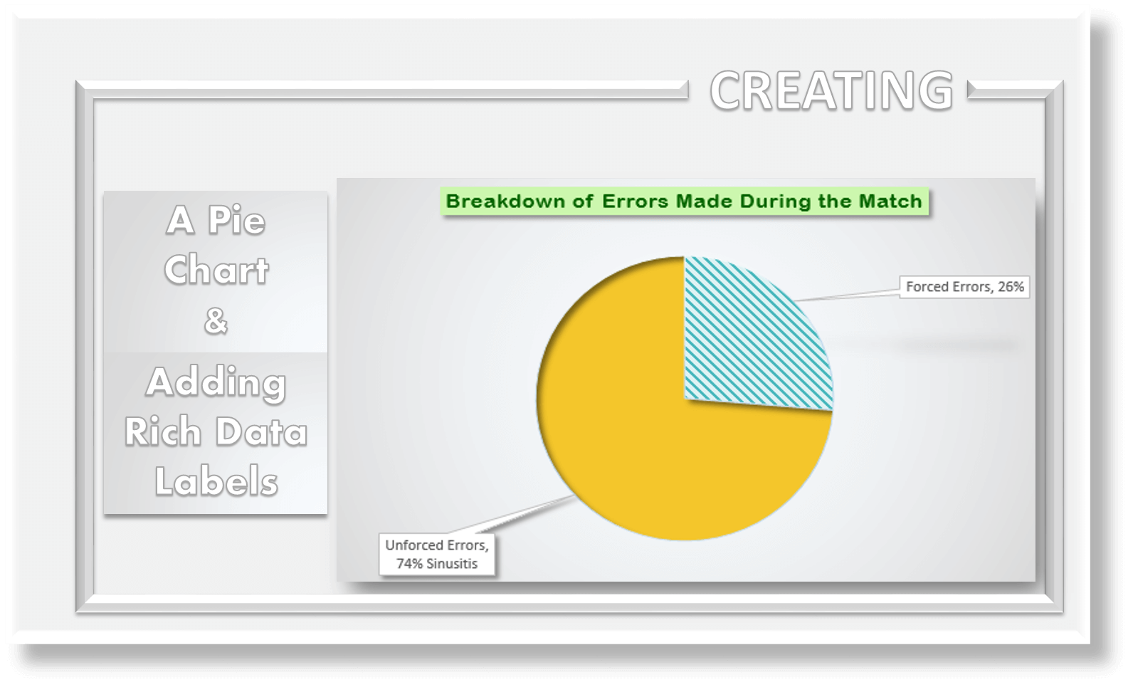 how to make a pie chart in excel  u0026 add rich data labels to