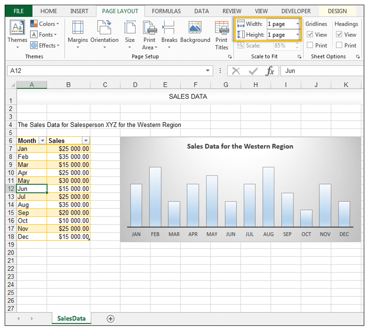 How to Print Excel Sheet on One Page - Image 13