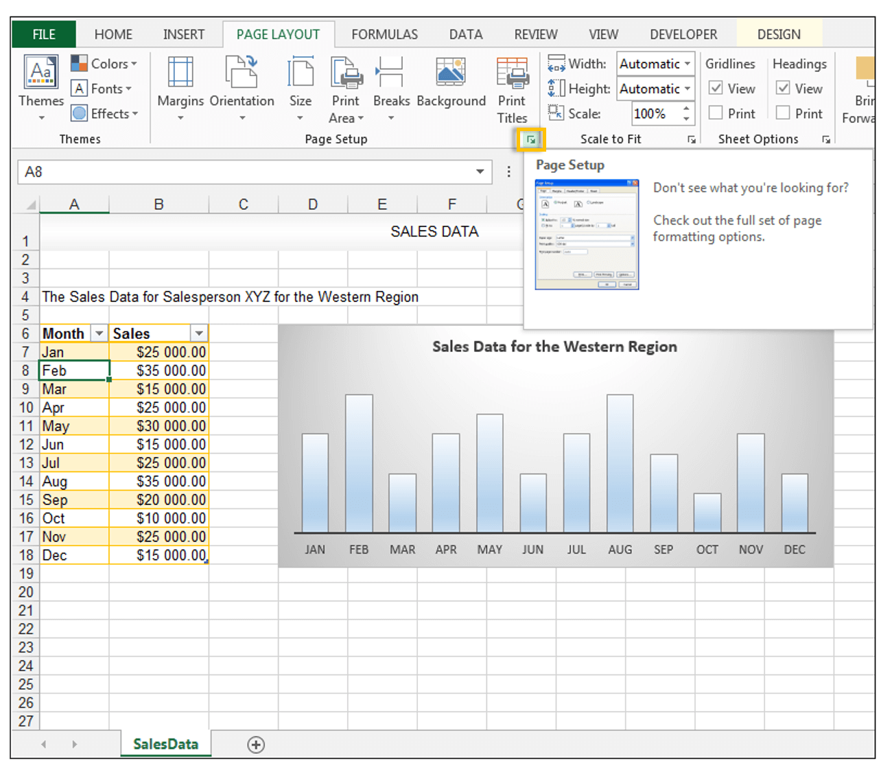 Page Layout in Excel - Image 10