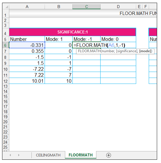 What is the use of floor function in excel thefloors co for Floor function