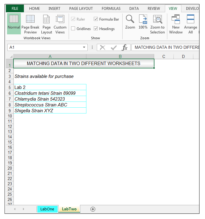 how to add columns on different sheets in excel