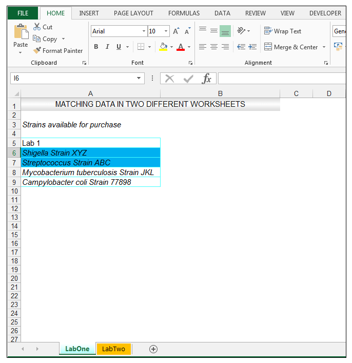 how to compare two columns in different excel sheets - Image 5