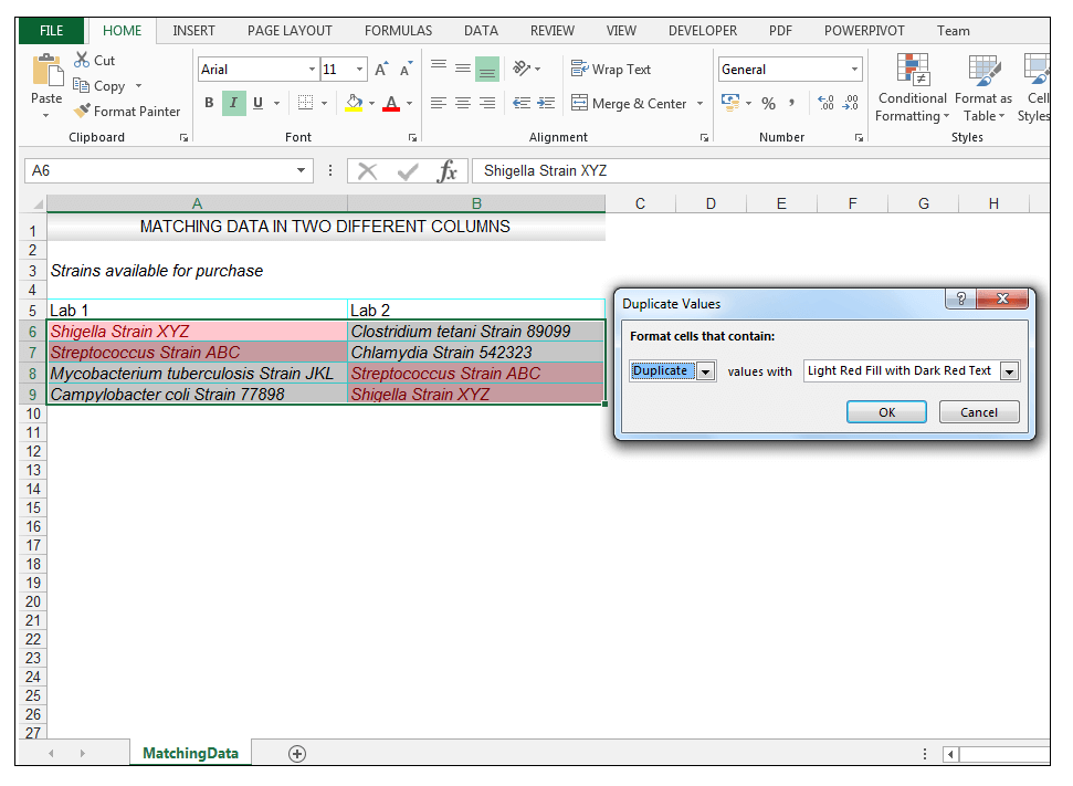 How to Compare Two Columns in Excel to Find Differences - Image 5