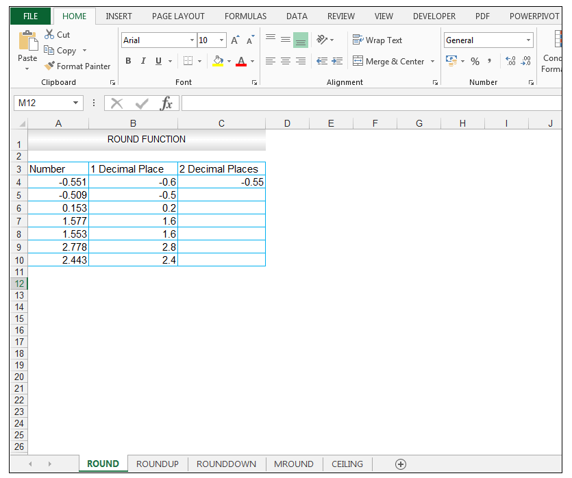 Excel Round Function - Image 6