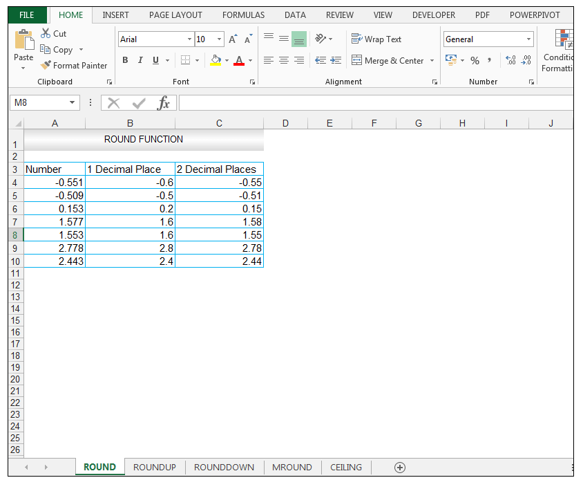 Excel Round Function - Image 7