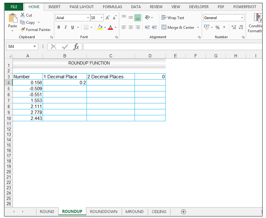 ROUNDUP Function in Excel - Image 3