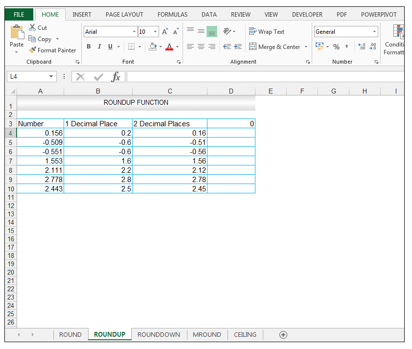 ROUNDUP Function in Excel - Image 7