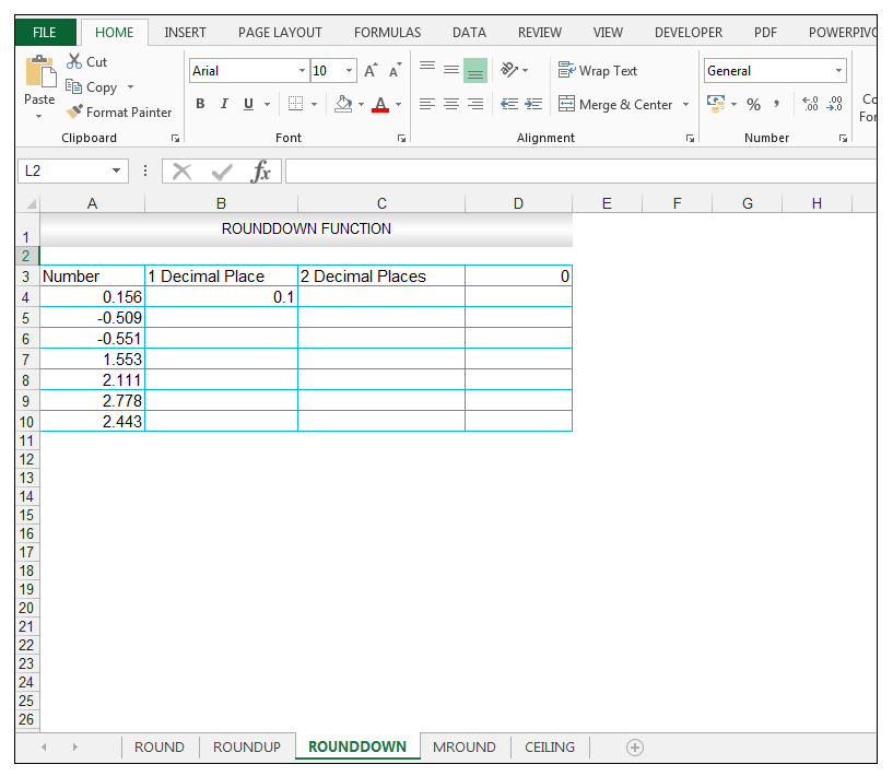 ROUNDDOWN Function in Excel - Image 3