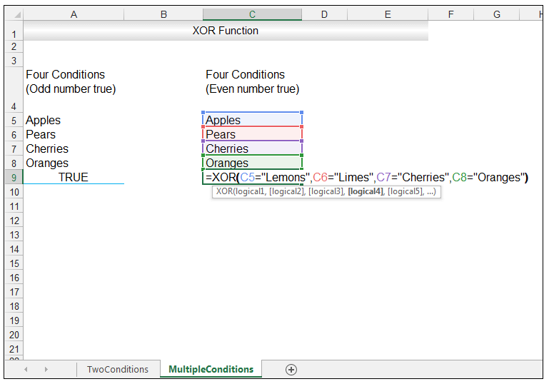 Excel XOR Function - Image 11