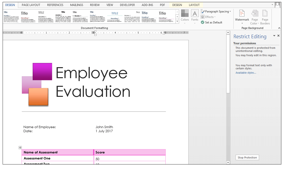 worksheet Workbook Vs Worksheet excel security worksheet vs workbook level protection employee evaluation data in ms word