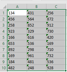 how to convert text to numbers in excel