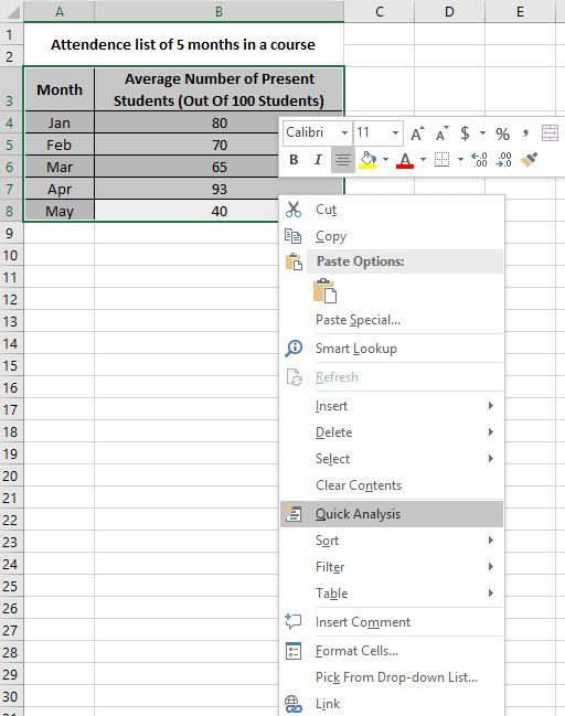 How to Insert Data into a Pie Chart in Excel