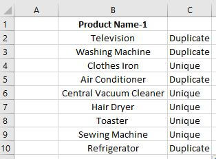 vlookup to find duplicates in two sheets