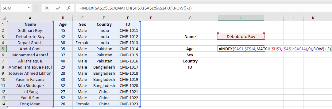 Excel Index Match Single Criteria Multiple Results