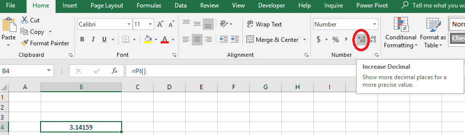 How to Round Numbers in Excel Without Formula
