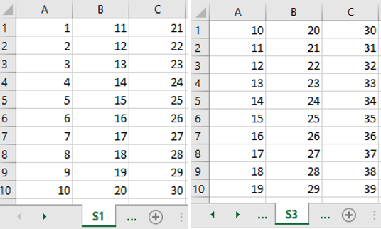 INDIRECT Function Excel: Get values from different sheet