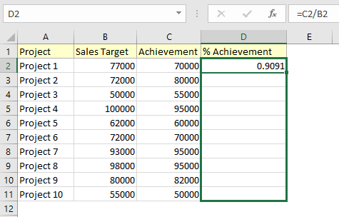 how to find percentage of grand total in excel