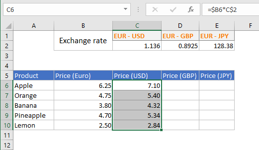 CTRL and Shift and Down arrow to select the whole column that has data