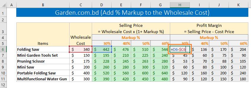Excel formula