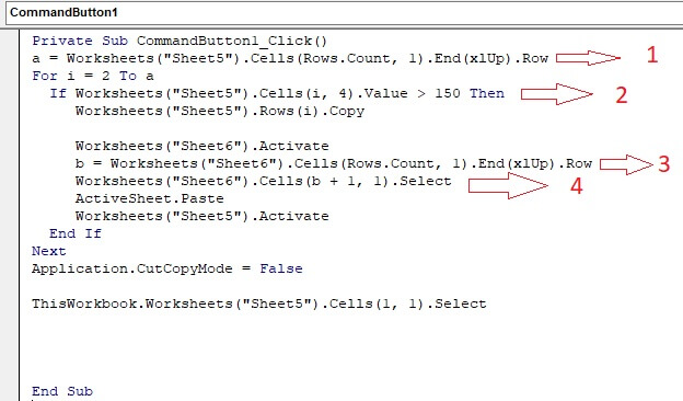 VBA code explanation