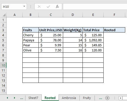 Copy down and right the formula to get the total matched rows.
