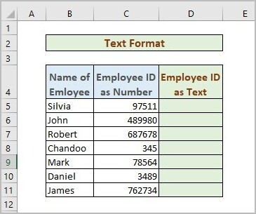 Excel Number Stored As Text