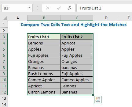 Select the dataset