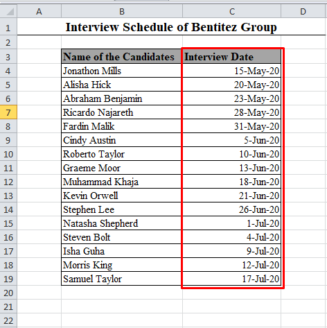 2 Days Added with Dates Using Macro in Excel