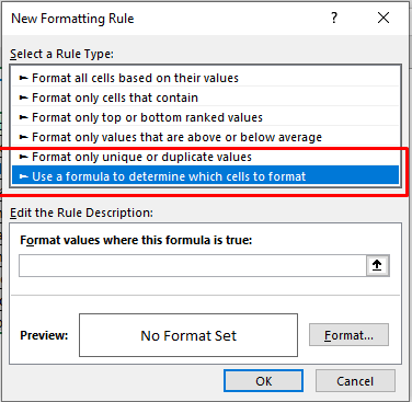 Select the marked option