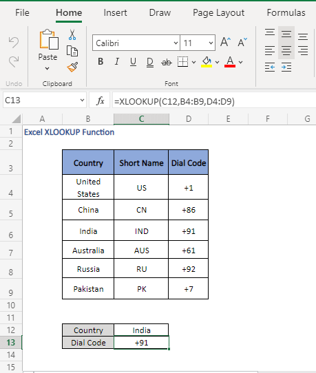 XLOOKUP overview - Excel XLOOKUP Function