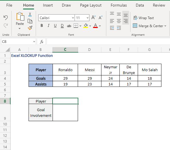 nested formula use - data - Excel XLOOKUP Function