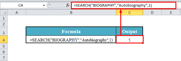 SEARCH Function for Case-Insensitive Match