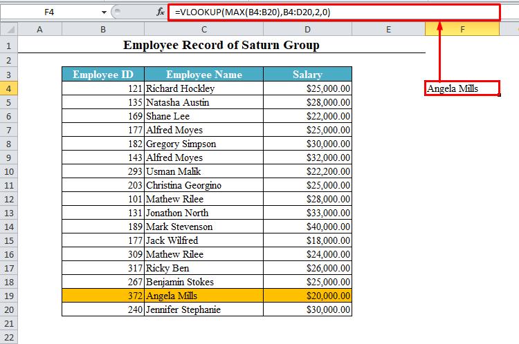 VLOOKUP for Maximum Value Holder