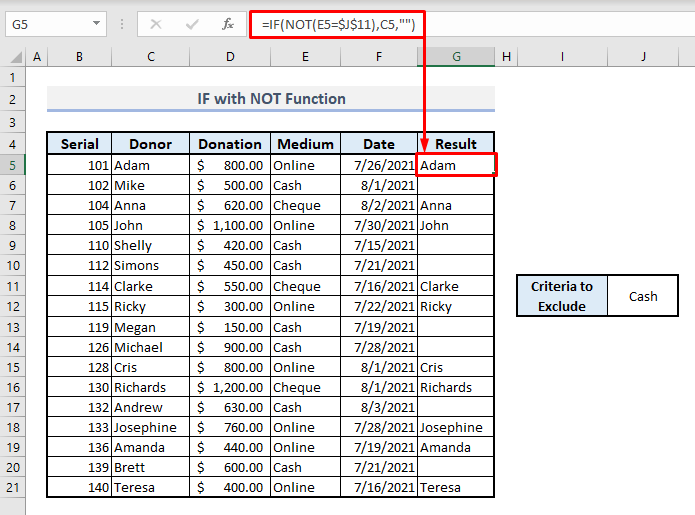 if with and or not functions in excel