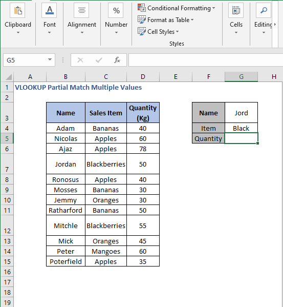 Helper function - VLOOKUP Partial Match Multiple Values